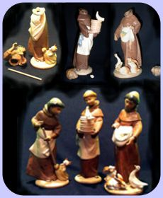 lladro monks repaired